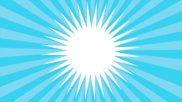 Modré pozadí Video animace