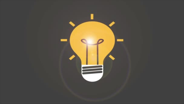 Lightbulb Video animation