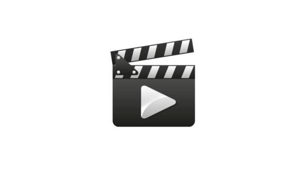 Clapper board, Soccer Video animation