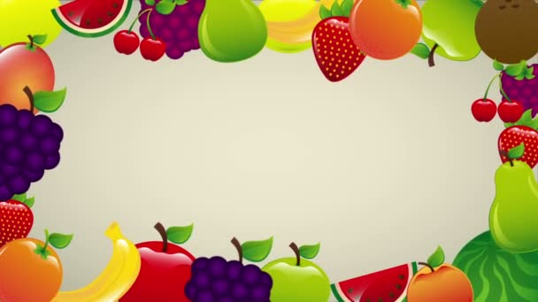Fruits Video animation