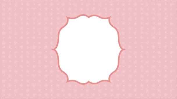 Sfondo rosa, Video animazione