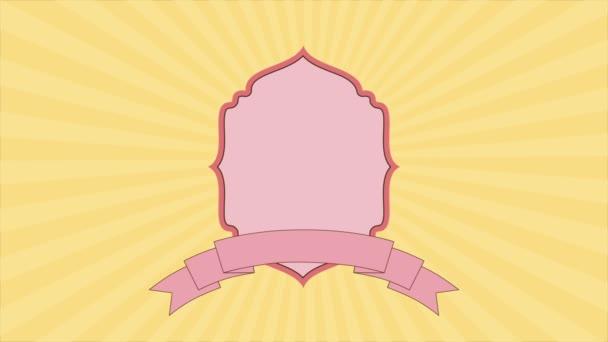 Etichetta rosa, Video animazione