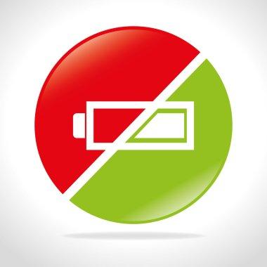 Battery widget design.
