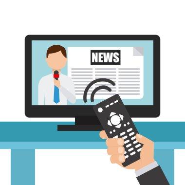 News concept design