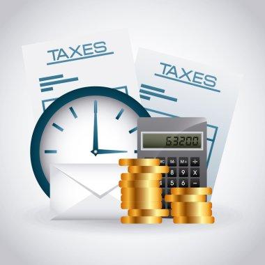 Taxes concept design