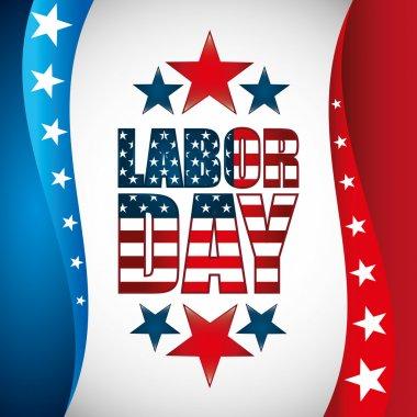 Labor day, holiday design