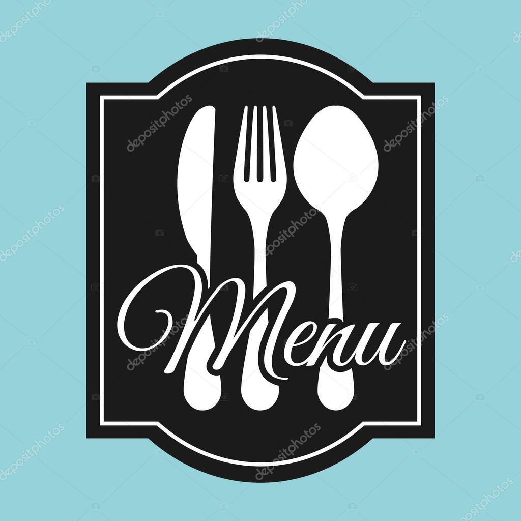 plantilla de menú de restaurante — Archivo Imágenes Vectoriales ...