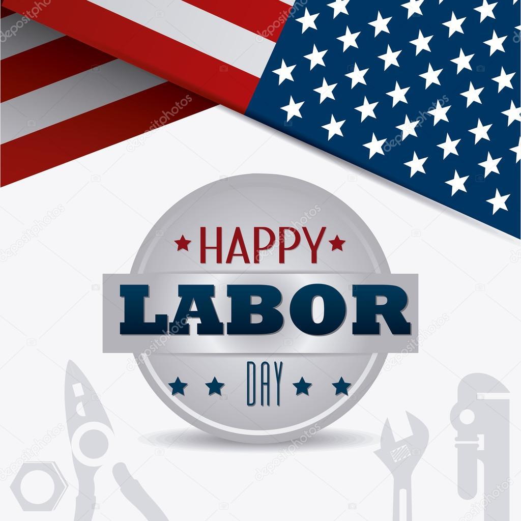 Labor Day Usa Design Stock Vector C Yupiramos 81119962