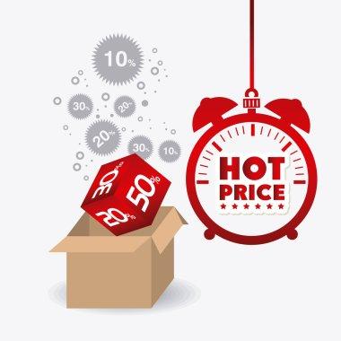 Hot price shopping design.