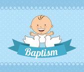 Photo baptism invitation design