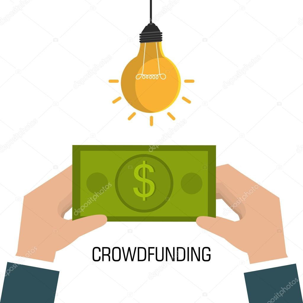 crowdfunding icon design stock vector yupiramos 87535204