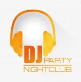 Hudba dj party téma