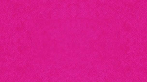 Rodinný design růžové pozadí, Video animace