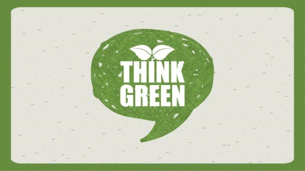 Think Green design, Video Animation