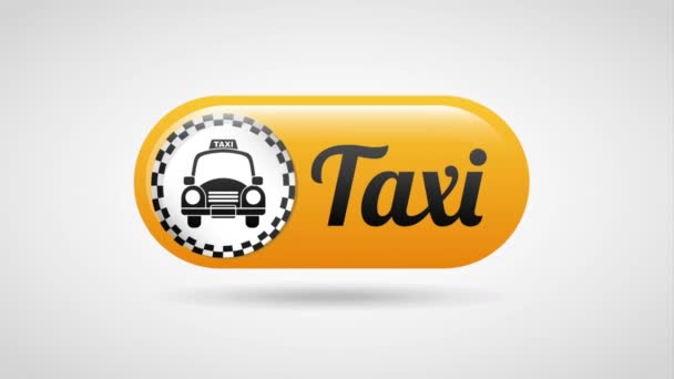Taxi služby design, Video animace