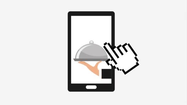 On-line nákup a rozvoz jídel, Video animace