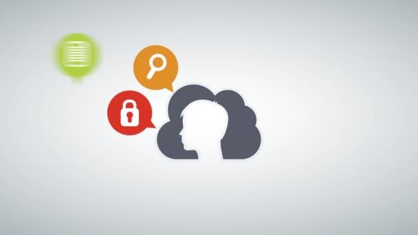 Cloud Computing design, Video animace