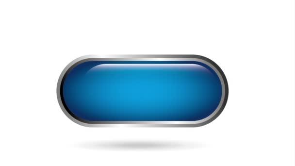 Kék gomb design