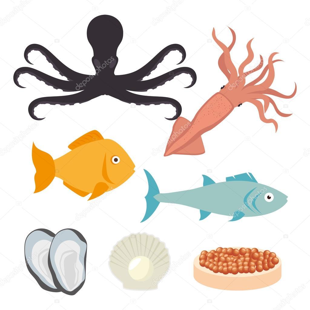 Sea food gastronomy