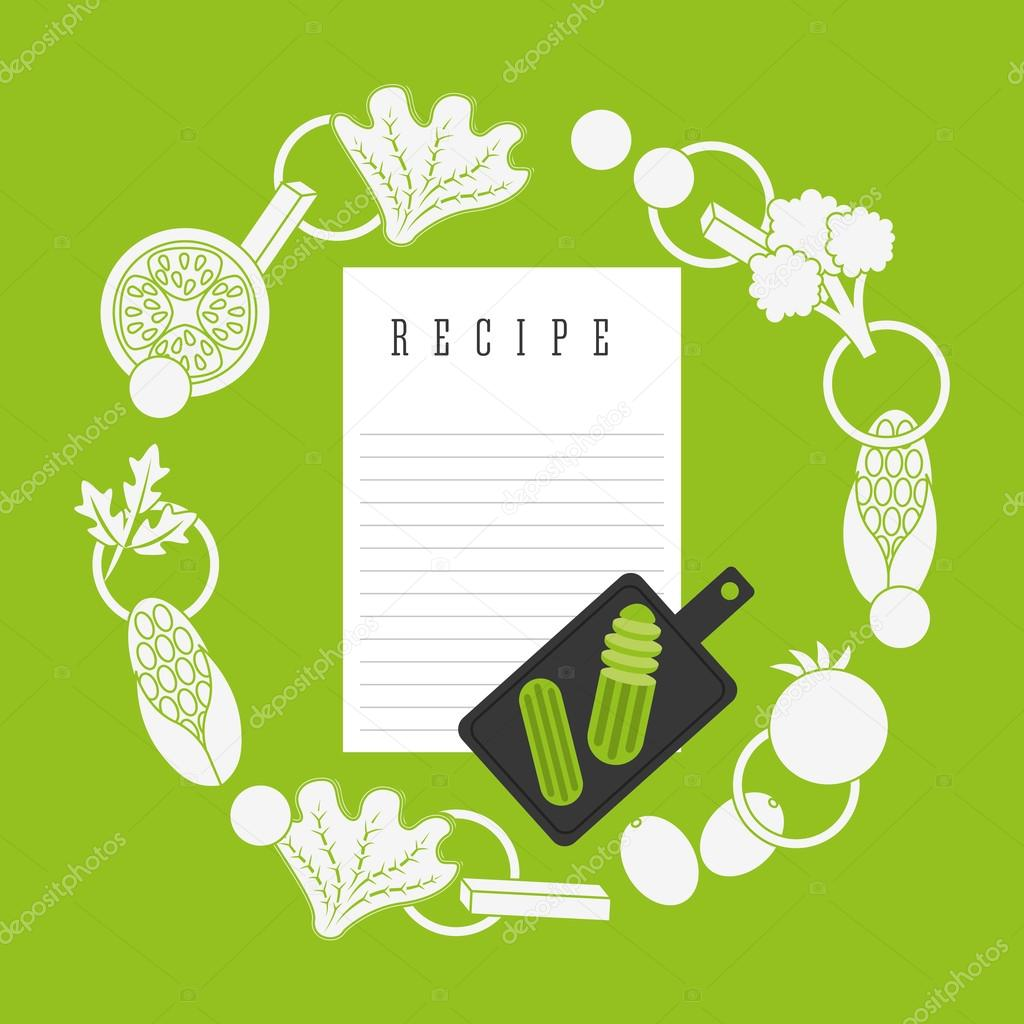Diseño grafico recetas de cocina | diseño de receta de cocina ...
