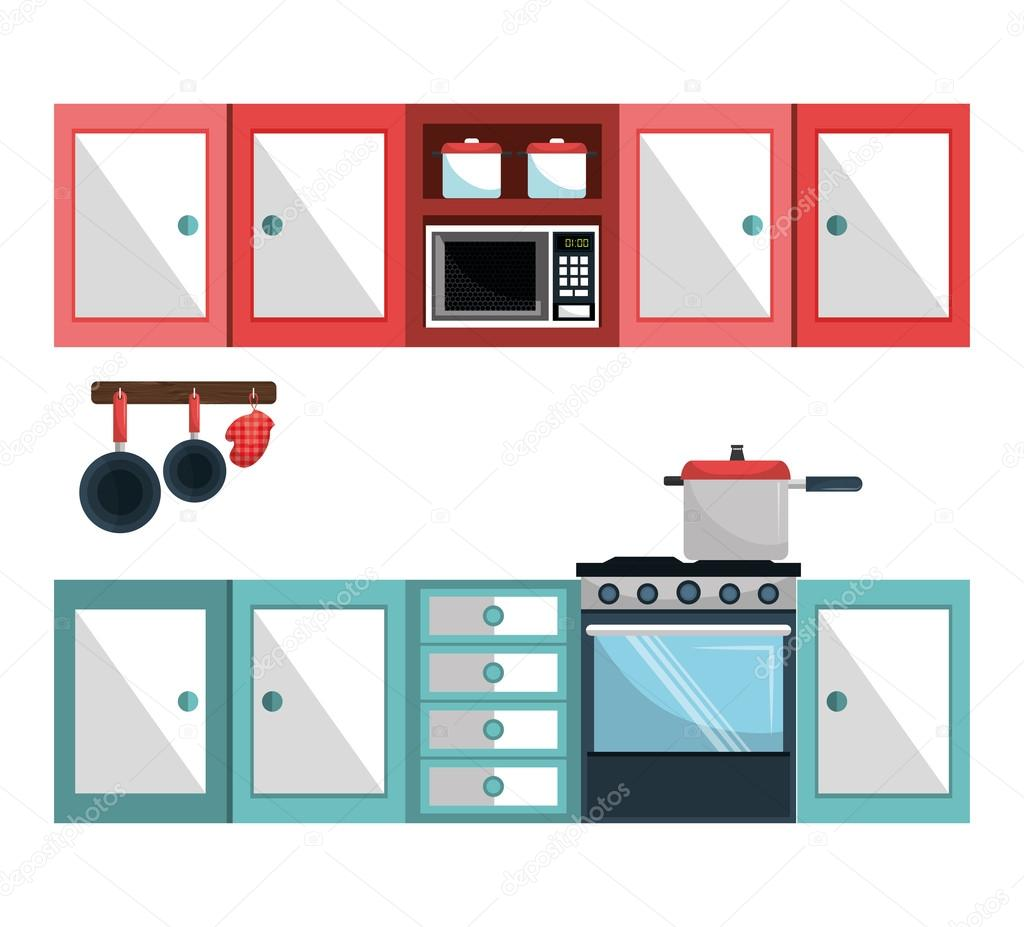 Utensilios De Cocina 94 Vajilla Y Utensilios De Cocina Vector De
