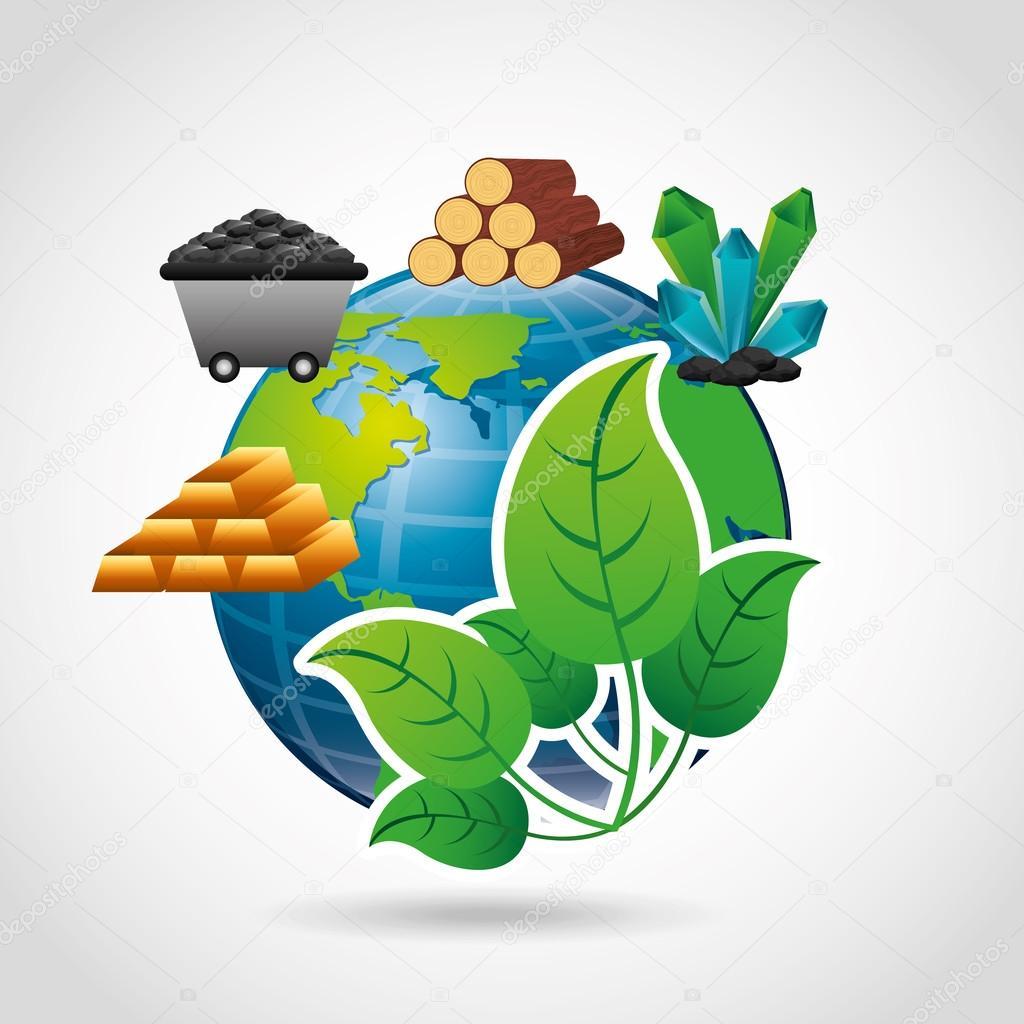 projeto de recursos naturais vetores de stock yupiramos 96203074