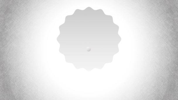 Fehér érem design