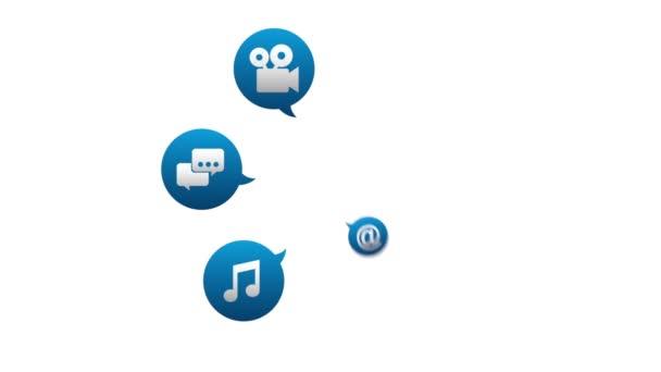 Technologie a design ikony