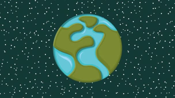 návrh pozadí planeta Země