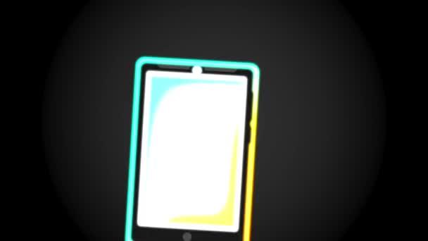 Mobilní telefon ikony designu