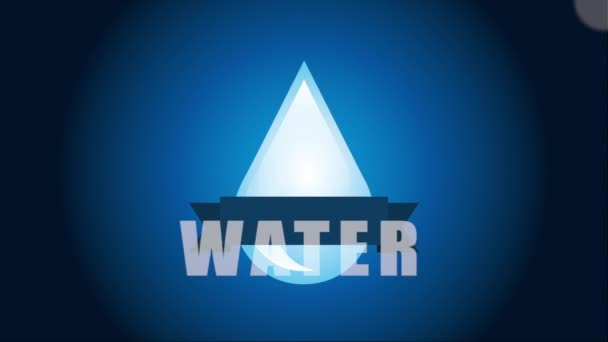 Water icon design