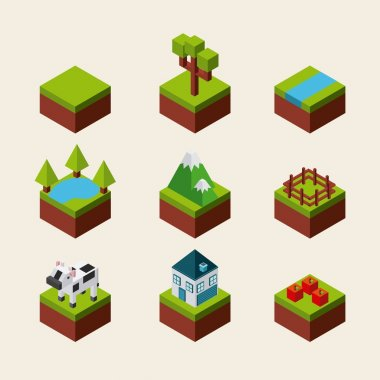 nature in pixels design