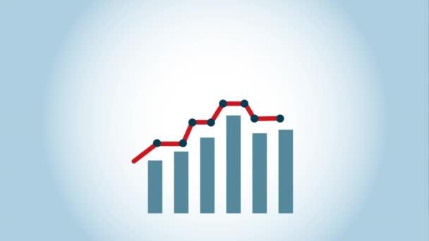 Statistika ikony designu