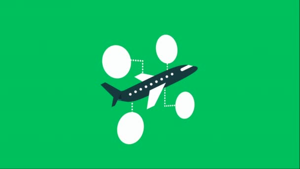 Design der Flugzeug-Ikone