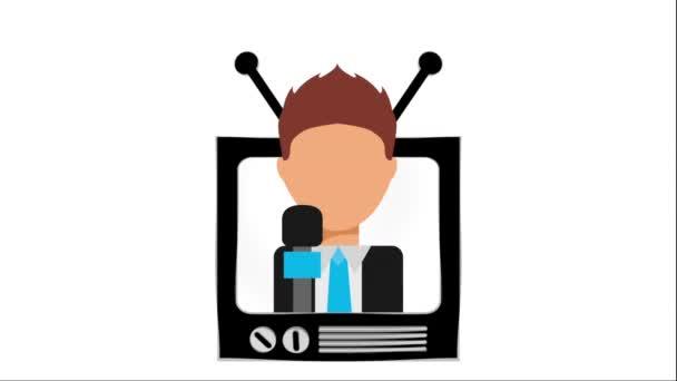 tv icon design