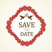 Svatební pozvání design
