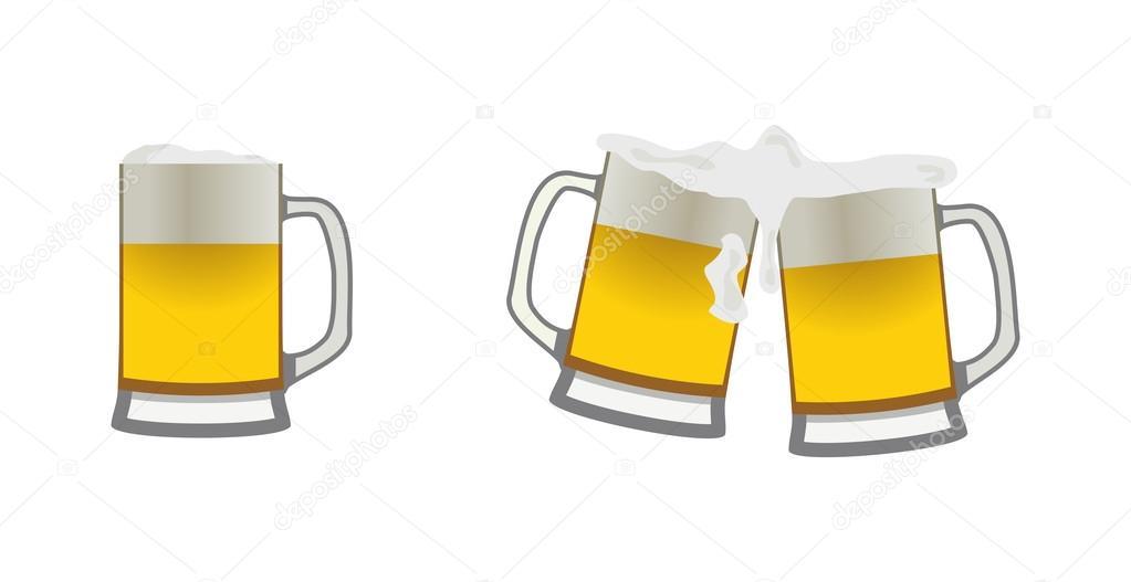 canecas de cerveja vetor de stock chubarov 52854347