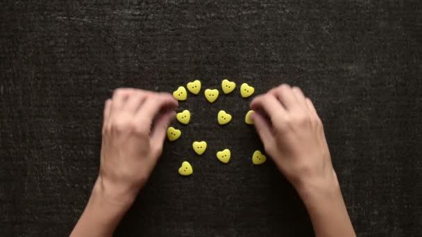 Takže srdce od tlačítka