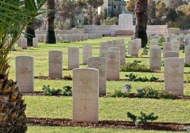 British War Memorial Cemetery in Beer Sheva.