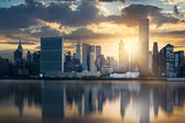 skyline di New york city