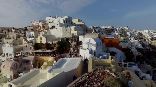 Oia santotini under the sunset