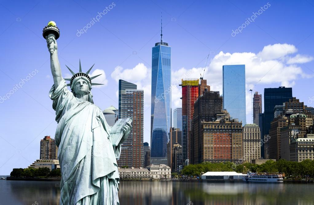 New York City Symbols Stock Photo Ventdusud 84170544