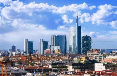 Milano skyline Italy