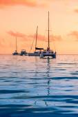 Photo Recreational Yachts at the Indian Ocean
