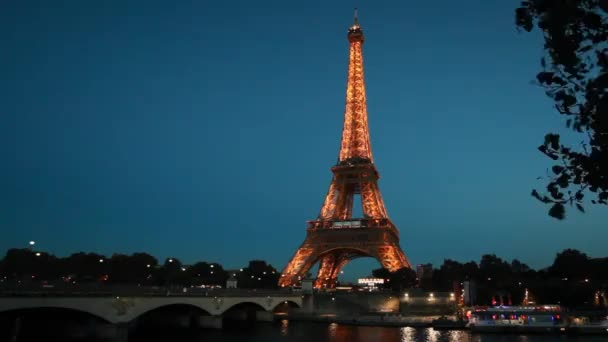 PARIS - October 7, 2016: Tour de Eiffel on December 29, 2011 in Paris. Built in 1889. One of the most recognizable structures in the world. Located on the Champ de Mars. Nickname La dame de fer.