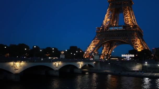PARIS - October 7, 2016: Tour de Eiffel on December 29, 2011 in Paris. Built in 1889. One of the most recognizable structures in the world. Located on the Champ de Mars. Nickname La dame de fer.