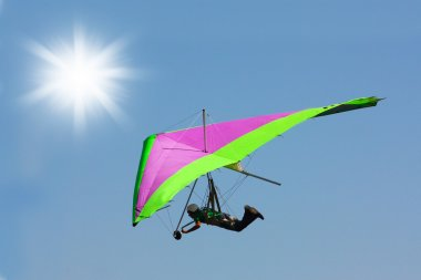 Hang gliding in Crimea