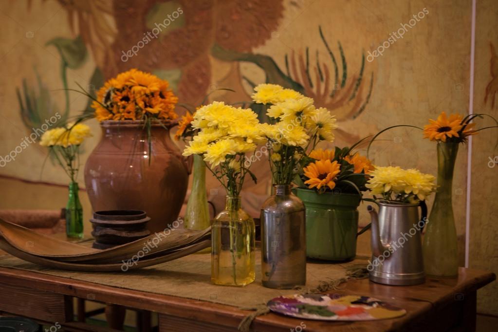 Van Gogh room of Keukenhof