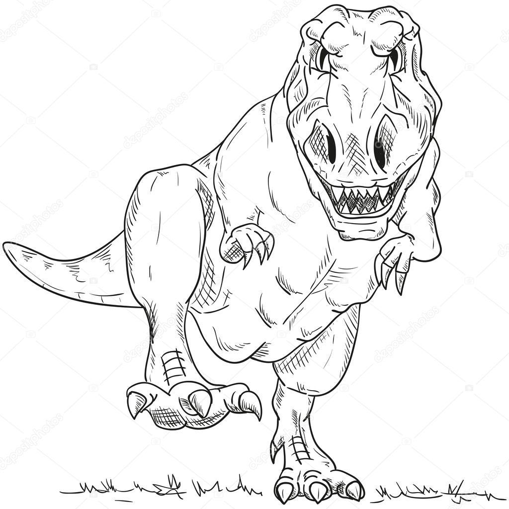 Dinosaur Stockvector Pavelmidi 56140941