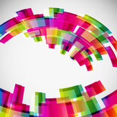 Abstract background with digital design elements.